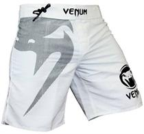 Venum Snake Light White Fight Shorts